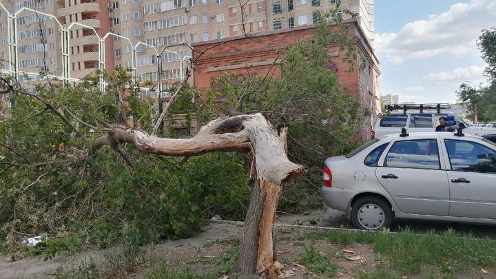 Штормовое предупреждение: на Челябинскую область идут ливни с градом