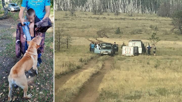Спасатели и волонтеры рассказали, как искали шестилетнего мальчика в Челябинской области