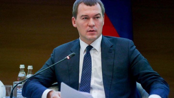 Песков назвал причины выбора Дегтярёва на пост врио главы Хабаровского края