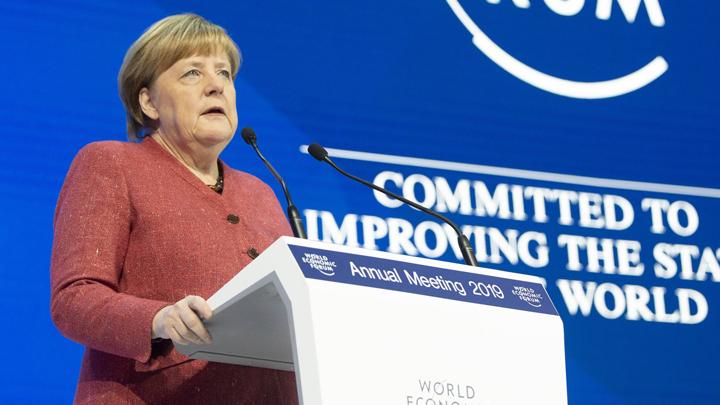 Почему Меркель опять «напала» на Трампа в Давосе