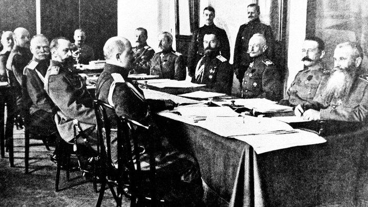 Планы русского командования накануне Первой мировой войны