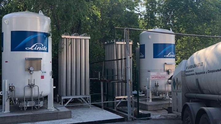 В две больницы Самары поставили новые газификаторы