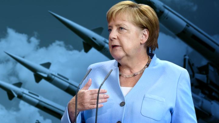 Вышла из отпуска и обвинила Россию: Меркель заняла сторону США в вопросе ДРСМД