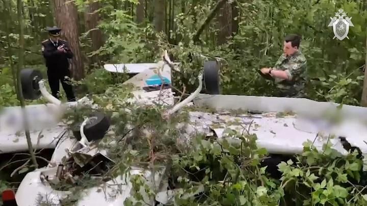 По факту крушения частного самолета в Лыткарино возбудили уголовное дело