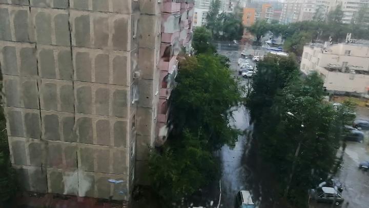 Южноуральцев предупредили о сильных дождях с грозами и градом