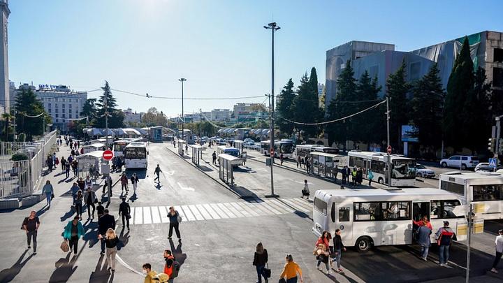 В Сочи оборудуют более 2 тыс. парковочных мест в 2022 году