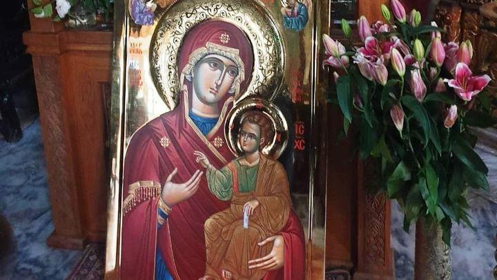 В Краснодар привезли Иверскую икону Божией Матери