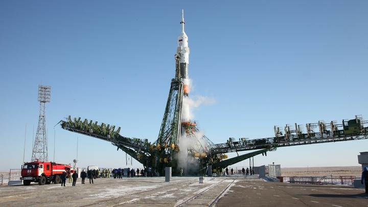 Пуск ракеты-носителя Союз-2.1а с кораблем Прогресс МС-08. Онлайн-трансляция
