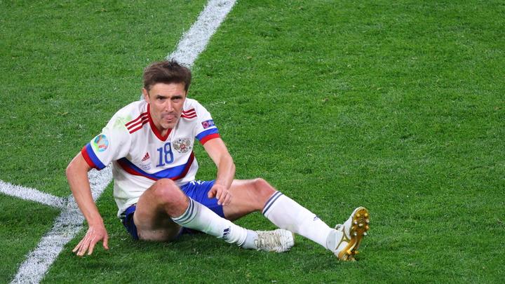 «Мы его потеряли на весь турнир». Травма Жиркова ослабила сборную Россию на Евро-2020