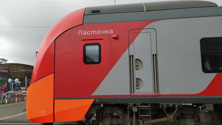 В Сочи турист попал под колеса Ласточки