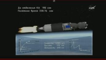 Командир передал привет: Ракета с пилотируемым кораблем Союз МС-08 успешно стартовала к МКС - видео