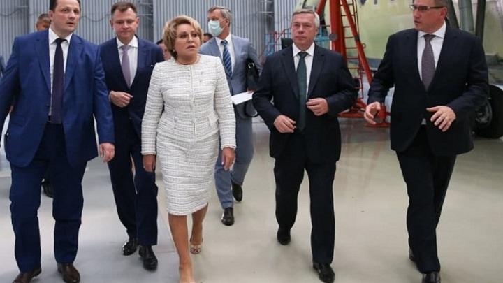 Матвиенко пообещала сделать Таганрог центром туризма юга России