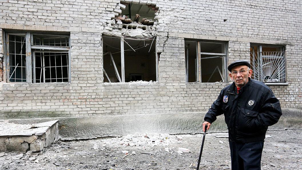 Донецк снова на линии огня