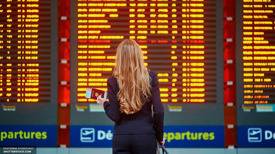 В столице России из-за урагана задерживаются рейсы— Нелётная погода
