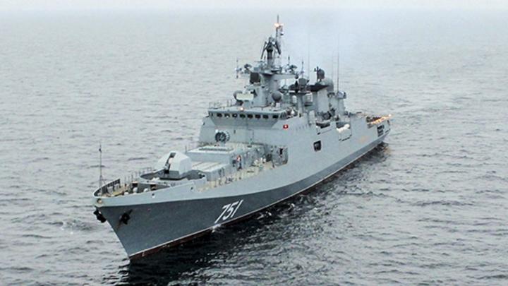 «Стальная акула» США попала в российские сети: «Адмирал Эссен» устроил сафари в Средиземном море