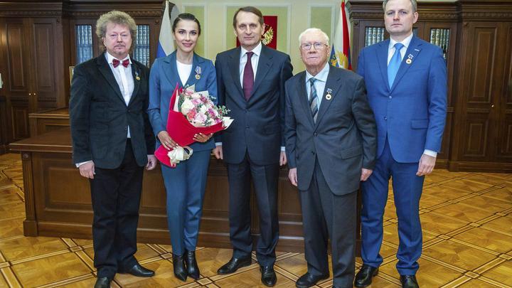 Глава СВР России вручил награды за лучшие работы о российских разведчиках за 2018 год