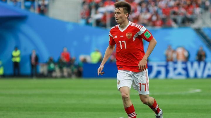Александр Головин – в сборной мира