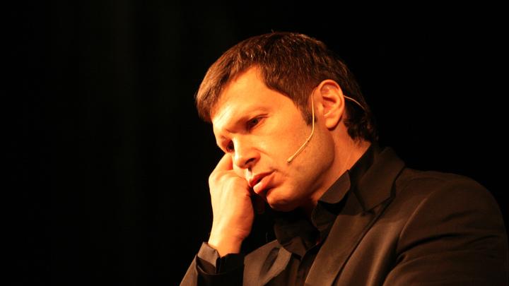 Зрителям неинтересно про пенсии? Соловьев объяснил, почему по ТВ обсуждают Украину