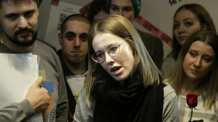 Собчак пообещала, что крымчане увидят ее не скоро