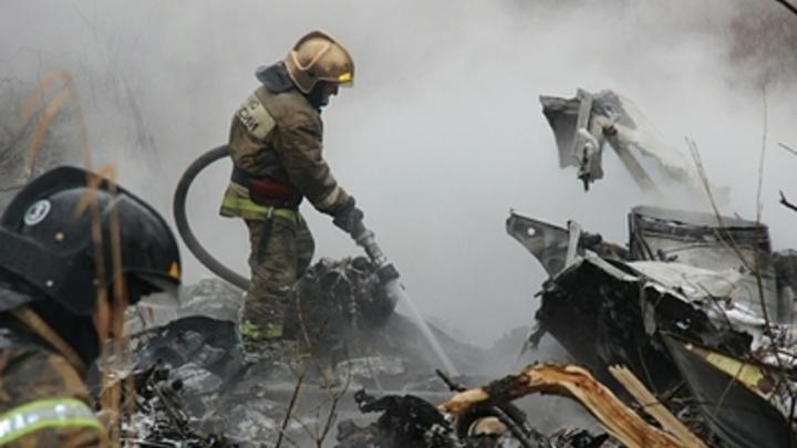Новое ЧП в воздухе: В Волгоградской области разбился самолет