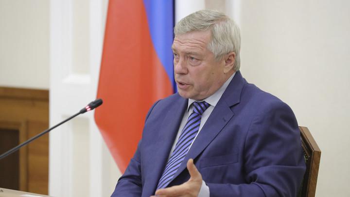 Губернатор Голубев сделал заявление по ситуации на закрытых рынках Аксайского ОПС