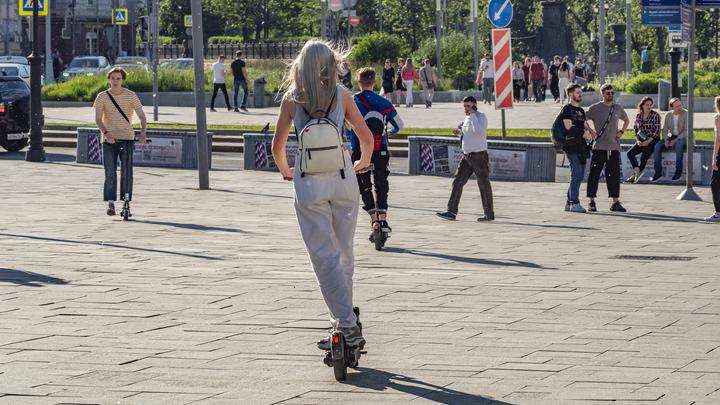 В Екатеринбурге начались проблемы с арендой электросамокатов