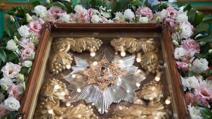 В Самару прибыла чудотворная икона Божией Матери Избавительница от бед из Ташлы