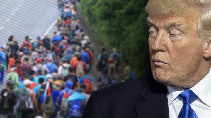 Трамп ожидает атаки США с юга