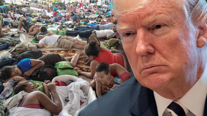 И не слабак, и не мясник: Трамп решил судьбу караванов мигрантов
