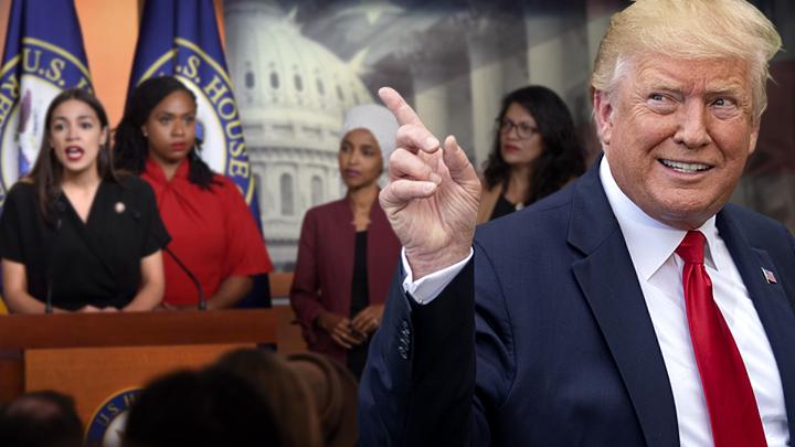 Трамп побеждает «четырёх всадниц Апокалипсиса»