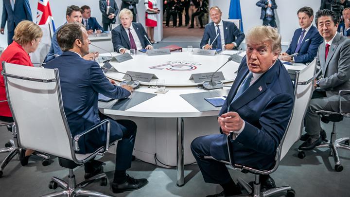 Без Путина никуда: Трамп «поссорился» с коллегами по G7 из-за России