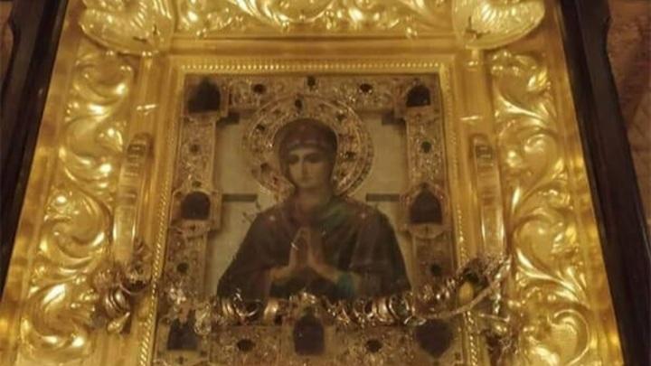 На Кубань привезут мироточивую икону Божией Матери «Умягчение злых сердец»
