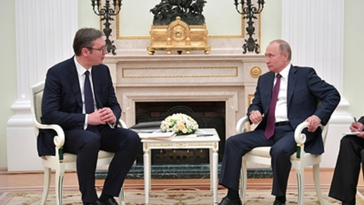 Встреча Путина и Вучича не связана с Косовом - Кремль