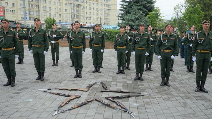 Во Владимире открыли Патриотический сквер