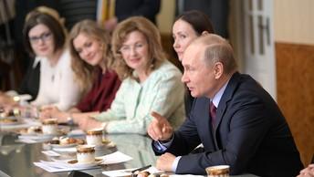 Как связаны хлеб и разведка: Путин поделился секретом на форуме сельхозпроизводителей