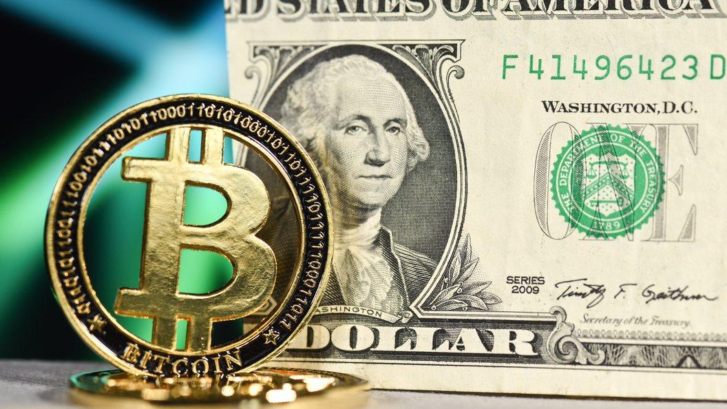 Курс биткоина поднялся выше 9 тыс. долларов