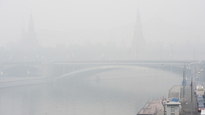 Экстренное предупреждение МЧС: Москву до самого утра затянет густым туманом