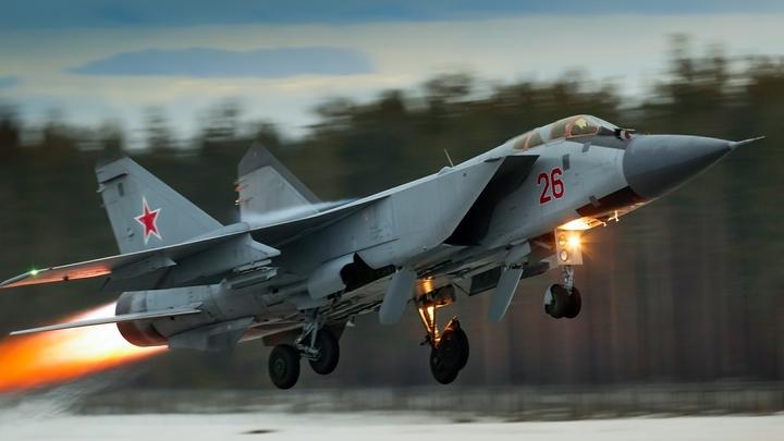 Минобороны направило на боевое дежурство 10 истребителей с «Кинжалом»
