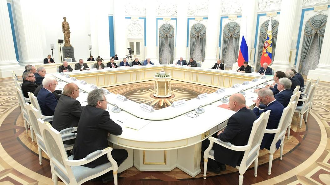 Путин подписал закон овыборах президента русской академии