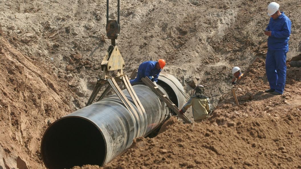 Газпром ударными темпами тянет в Китай газопровод Сила Сибири