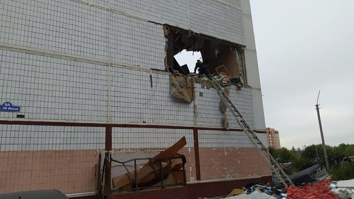 В Свердловской области произошел взрыв газа в пятиэтажке. Есть пострадавшие