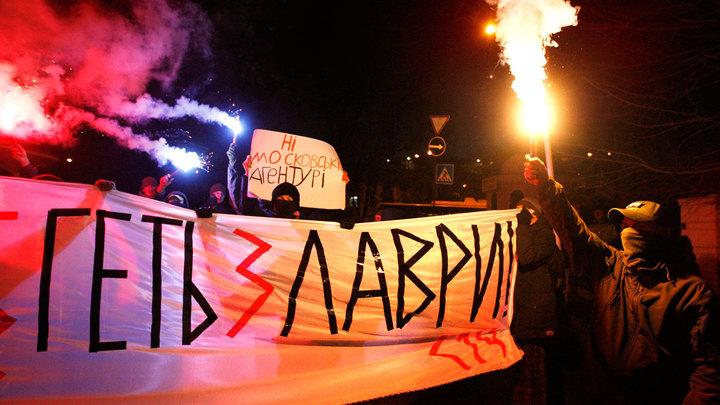 Ночь после Рождества: Киево-Печерская Лавра подверглась очередной атаке украинских нацистов