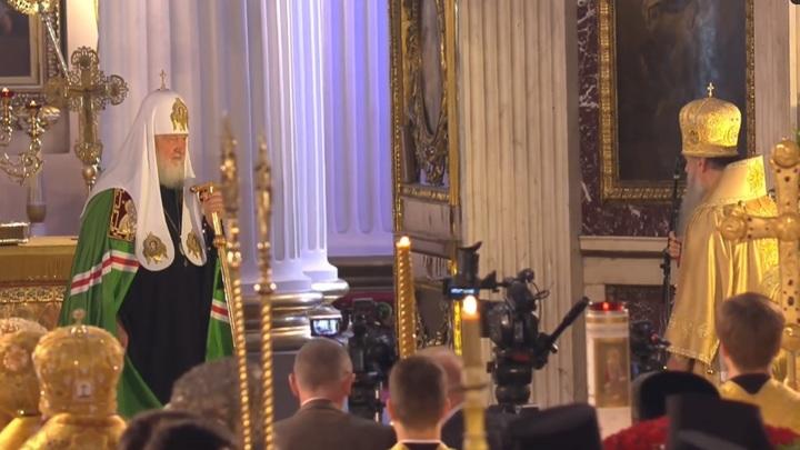 Патриарх Кирилл: Нужно быть достойными предшественников