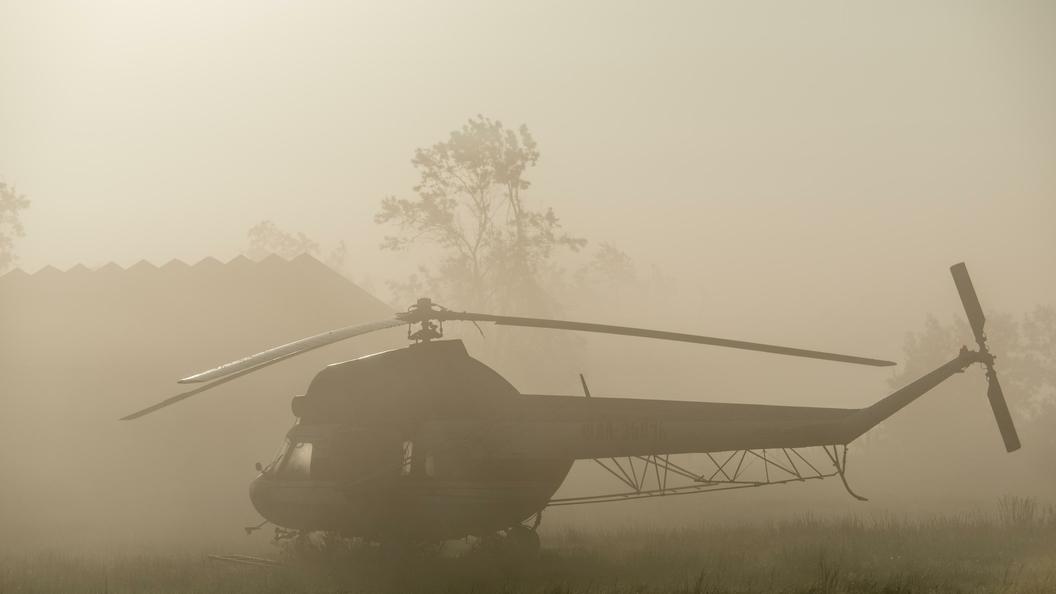 Вертолет Ми-2 потерпел крушение вСтавропольском крае
