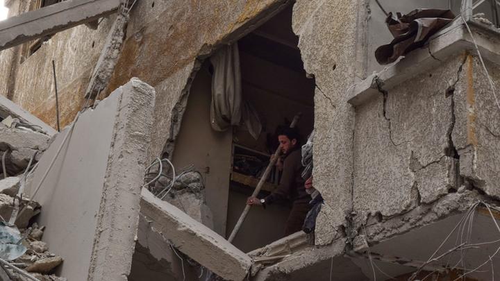 Обстрелян центр Дамаска: Атакована гуманитарная миссия