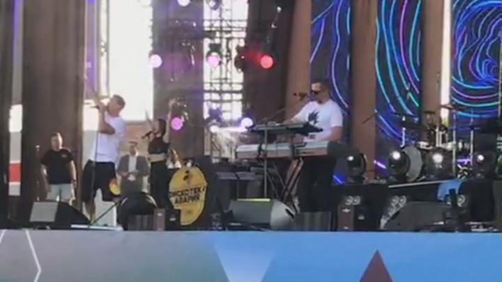 Мэр Новокузнецка в прямом эфире показал концерт группы «Дискотека авария»