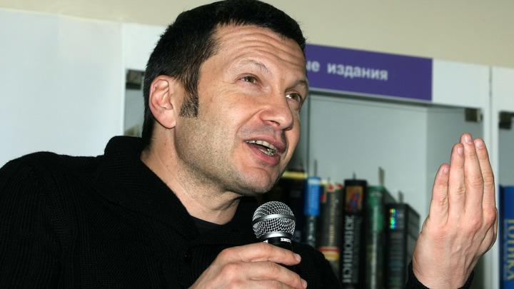 Только начало: Владимир Соловьев указал на нестыковки в гибели депутата Тымчука в Киеве
