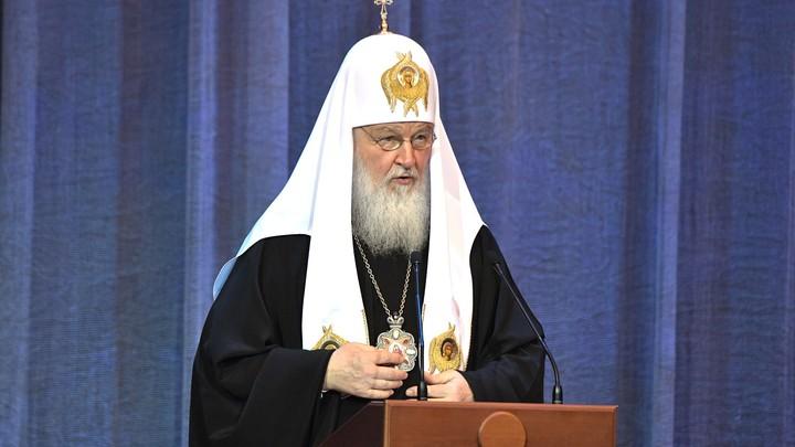 Это необходимо: Патриарх Кирилл заявил о важности освещения в СМИ темы раскола в Православном мире