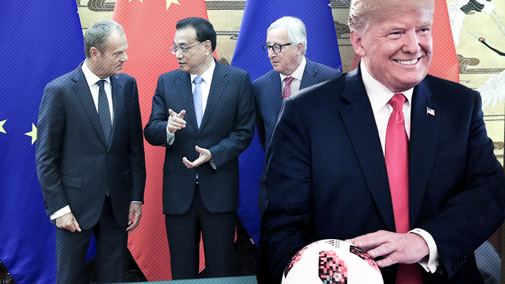 За спиной у Трампа Европа договаривается с Китаем и Японией