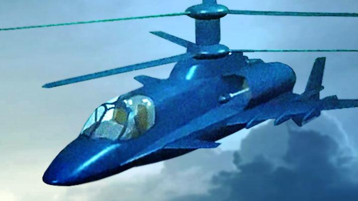 Реактивный вертолёт – будущий убийца американской ПРО